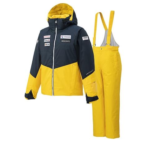 スキーウェア キッズ 上下セット ジュニア スイスレプリカ DWJQJH90 NYL 雪遊び ウェア