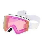 スキー ゴーグル メンズ スノーゴーグル KLEVELAND マットホワイト 21KMW BRPKC
