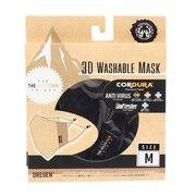 3D WASHABLE マスク AN20MK010203 BLACK