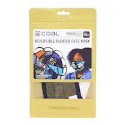 Reversible Pleated フェイスマスク 2202687-OLI-S