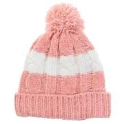 モールポンポン ニット帽 192D5772 PNK
