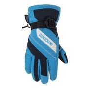 スキー グローブ ジュニア 5本指グローブ DWDQJD62 TBU キッズ 手袋 雪遊び