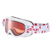 AX250-WD WT 子供 スノー ゴーグル CGRY スキーゴーグル スノーボードゴーグル ジュニア
