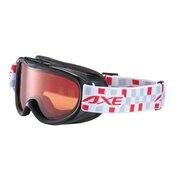AX250-WD BK 子供 スノー ゴーグル CGRY スキーゴーグル スノーボードゴーグル