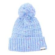 ニット帽 キッズ スキー ジュニア ポンポン ニットキャップ PSAH8HW94 LB 雪遊び