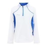 ジュニア ストレッチフリーズジップTシャツ PSAH2LS90 WT