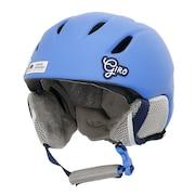スキー スノーボード ヘルメット ジュニア キッズ スキーヘルメット ラウンチ Matte Shock Blue