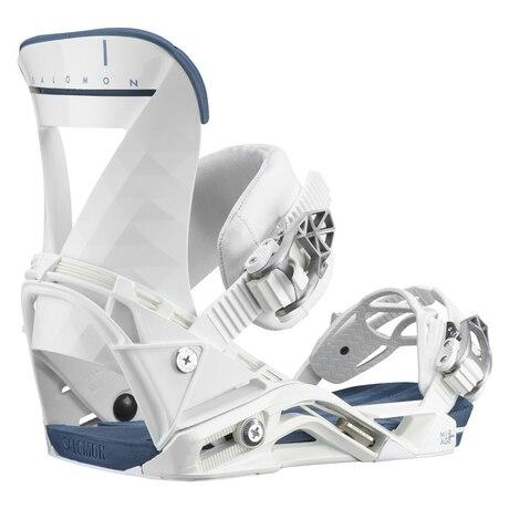 スノーボードビンディング 21 MIRAGE WHITE/BLUE 412010