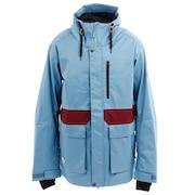 スノーボード ウェア REVOLVER JACKET 71118309 SLATE BLUE/BURGUNDY