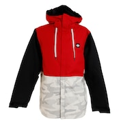Foundation INS ジャケット L9W128 Red Colorblock