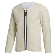 ゴルフ ADICROSS リバーシブル長袖ジャケット INS92-GD9082BEG