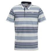 ボーダー半袖ポロシャツ 21-2201444-13