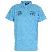 タイダイプリントポロシャツ CL5HTG62 BLU
