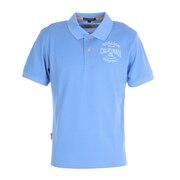 吸水速乾 ポリエステルカノコ半袖ポロシャツ 044-24241-091
