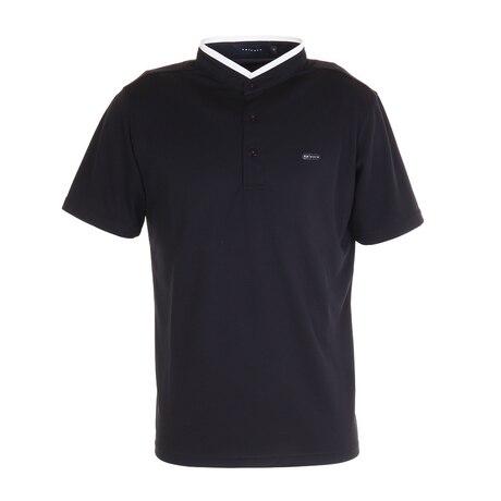 ゴルフ ポロシャツ ハイスタンドカラーポロシャツ 151-24342-019