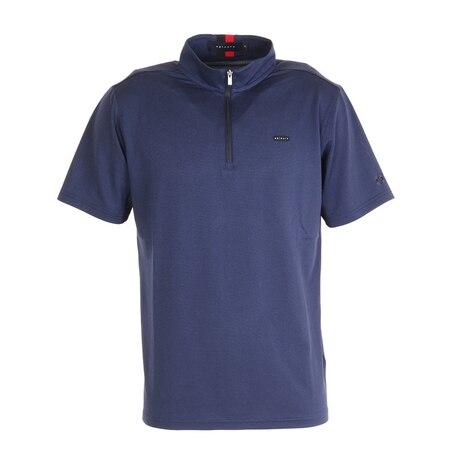 ハーフジップシャツ 151-24240-098