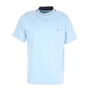 WAVYフラッグハイネックシャツ THMA142-SAX