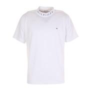 WAVYフラッグハイネックシャツ THMA142-WHT