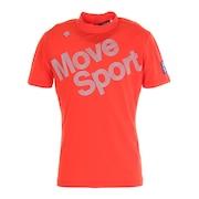 ウーブンニットロゴプリントモックネックシャツ DGMRJA51-OR00