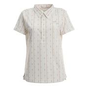 アフリカンモチーフストライプ 半袖シャツ 002-22542-005