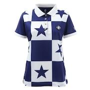 PANEL STAR 半袖ポロシャツ V122010CT02-NVY