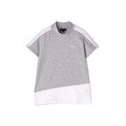 半袖モックネックシャツ 241-1134807-021
