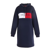 FRONT FLAG SWEAT ワンピース THLA050-NVY