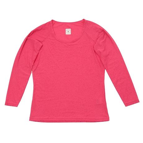 冷感 長袖クルーネックシャツ 25152370