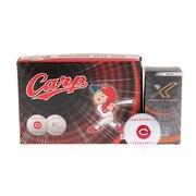 ゼクシオ エックス セ・リーグ コラボレーションゴルフボール 広島東洋カープ 6個 XN X WH