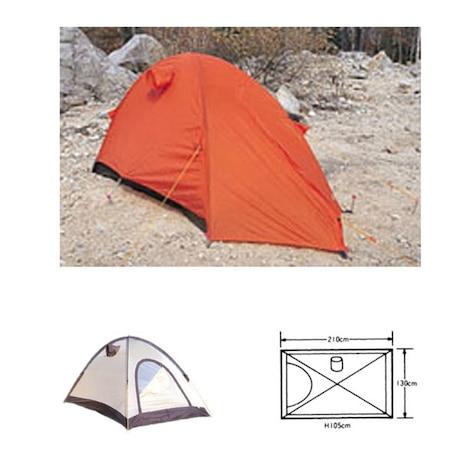 テント エアライズ 2 オレンジ キャンプ用品 テント ソロキャンプ