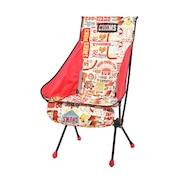 椅子 アルミ コンパクトチェア ブービーフットハイ CH62-1599-R101