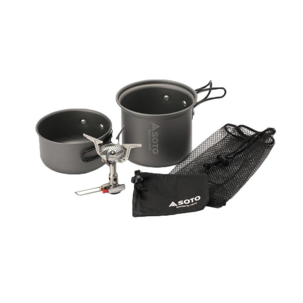 アミカス クッカーコンボ SOD-320CC キャンプ コンロ 調理器具