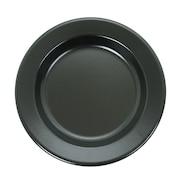 ホーロー食器 FLAT PLATE 25 PC-003 BLACK
