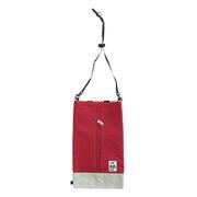 ボックスティッシュカバースウェットナイロン CH60-2693 Red/Gray