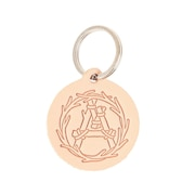 Leather Charm Anarcho Cups Wre