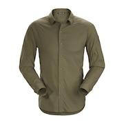 半袖シャツ  長袖 イラオ LS シャツ L07320200-Arbour
