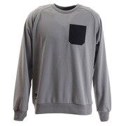 タスランポケットロングスリーブTシャツ 20934599-54.GRY