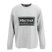 フレームロゴロングスリーブクルーシャツ TOMQJB57 GYM
