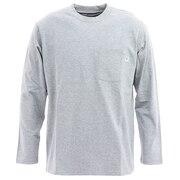 ポケット ワイドロングスリーブTシャツ 101123 Heather