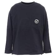 長袖Tシャツ ロンT ビッグイエローメドウロングスリーブTシャツ PM0075 010