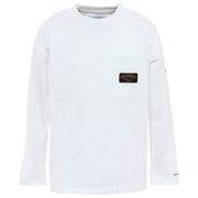 長袖Tシャツ ロンT ビッグイエローメドウロングスリーブTシャツ PM0075 100
