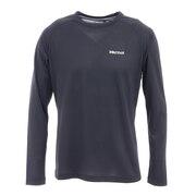長袖Tシャツ ロンT アセントロングスリーブTシャツ TOMRJB40 BK