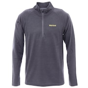 長袖Tシャツ ロンT クライムウールロングスリーブジップシャツ TOMRJB61 CHC