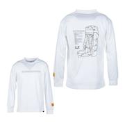 長袖Tシャツ ロンT JP SACK DETAILS RETRO ロングスリーブTシャツ 5022861-5018