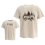 FIRE 半袖Tシャツ 2002009-SAND