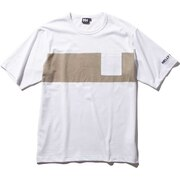 ショートスリーブボーダーTシャツ HE62030 WR