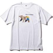 ショートスリーブアニマルTシャツ HOE62003 W