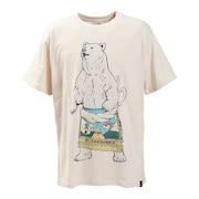 USA/C 天竺 相撲クマSP 半袖Tシャツ 331914NATURAL