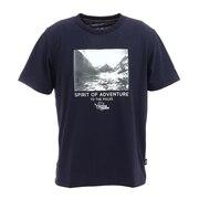 アンタークティック ランドスケープ Tシャツ PW2HJA24 NVY