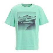 吸水速乾 ランドスケープ グラフィック Tシャツ ZTH074J-713